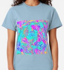 Abstract Blue zodiac color #7E9DD8 Classic T-Shirt