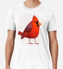 Maskierter Cardinalis Premium T-Shirt