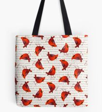 Masked Cardinalis Tote Bag