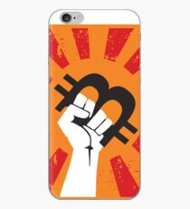 Bitcoin revolution iPhone Case