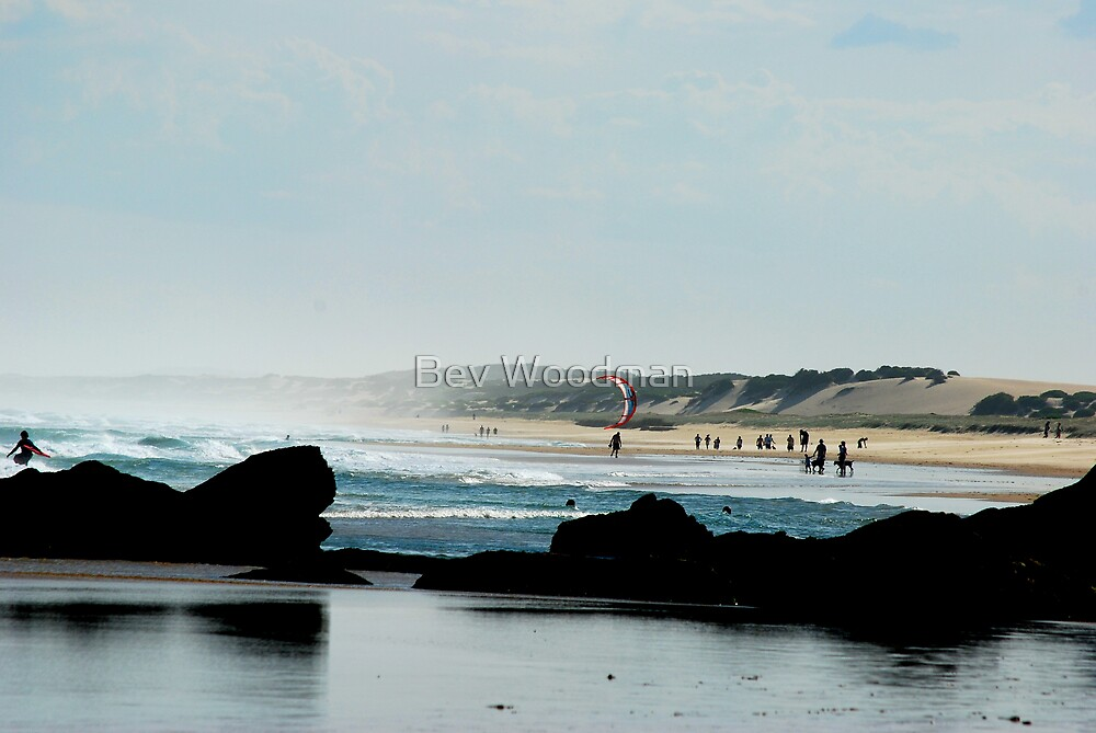 Late Afternoon - Redhead Beach NSW by Bev Woodman