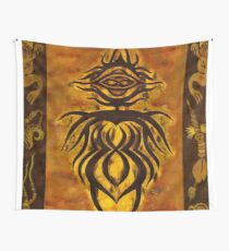 Afrikanische Göttin. Pagan Wicca Art. Wandbehang
