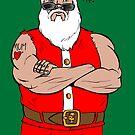 Biker Santa by Colin Wells