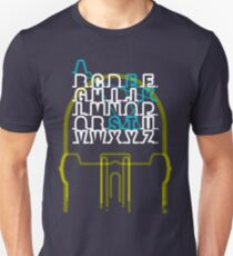 Skate - Alphabet Unisex T-Shirt