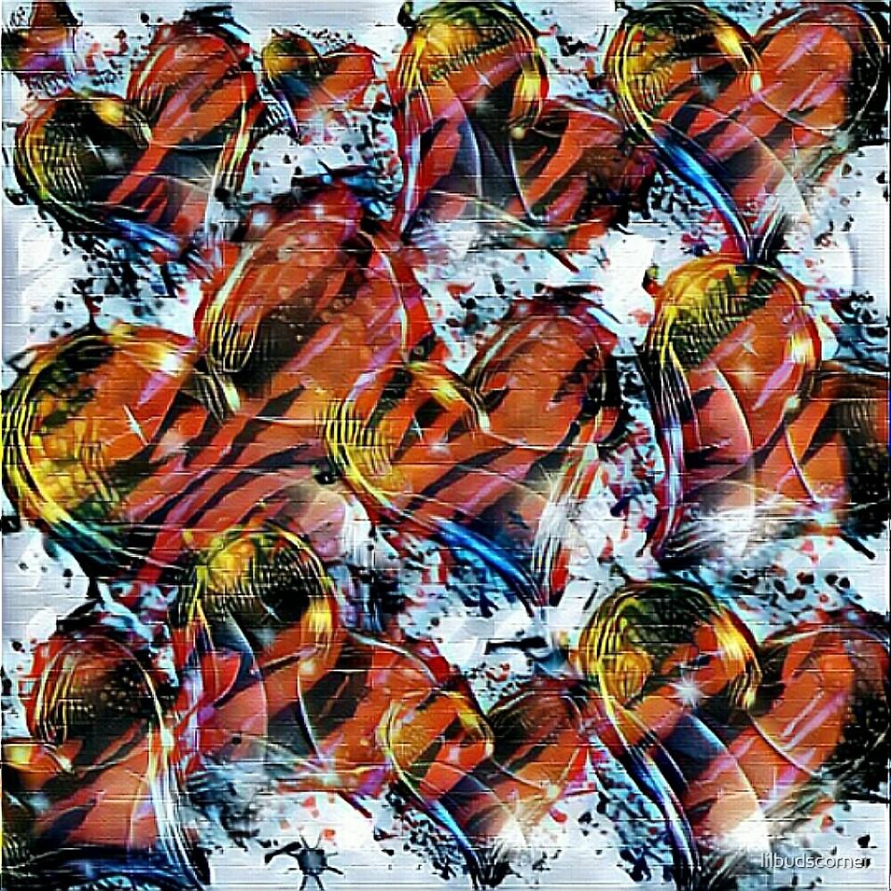 Hearts On Fire by lilbudscorner