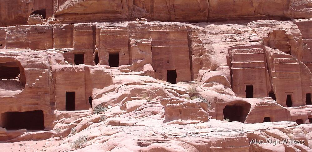 Petra Caves by Alun Wyn Walters