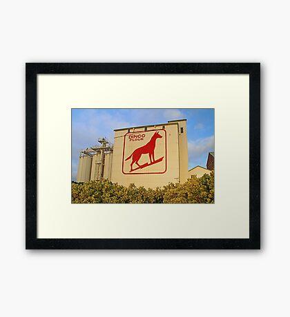 Dingo Flour Mill  Framed Print
