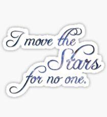 Move The Stars Sticker