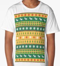 Golden Christmas Long T-Shirt