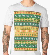 Golden Christmas Men's Premium T-Shirt