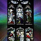 Window of St Giles Cathedral, Edinburgh, Scotland by Bev Pascoe