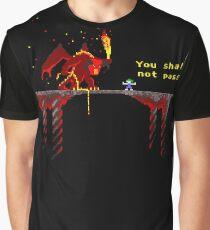 Camiseta gráfica You shall not pass!