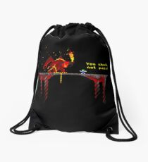 You shall not pass! Drawstring Bag
