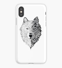 duo wolf iPhone Case/Skin