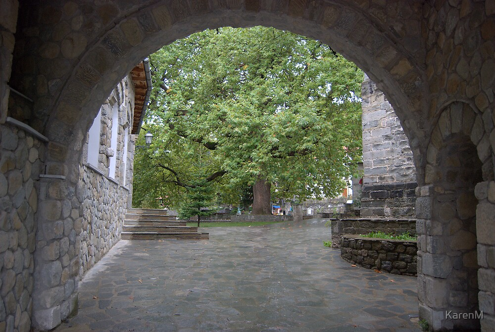 Metsovo Archway by KarenM