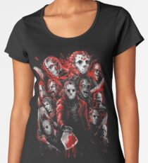 Jason Voorhees (Many faces of) Women's Premium T-Shirt