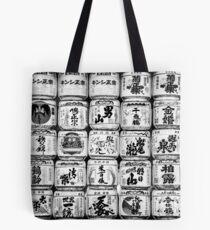 Sake Casks Tote Bag