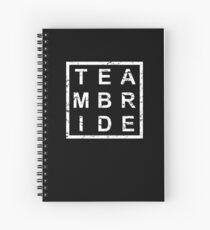 Cuaderno de espiral Stylish Team Bride