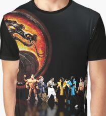 Mortal Kombat pixel art Graphic T-Shirt