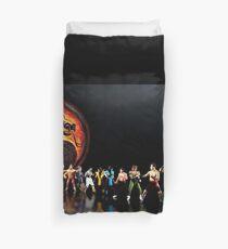 Mortal Kombat Pixelkunst Bettbezug