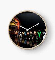 Mortal Kombat pixel art Clock