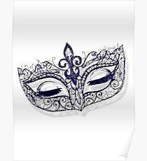 Masquerade Ball Mask Poster