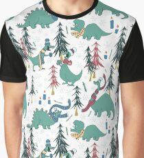 Dinosaur Hygge Graphic T-Shirt