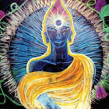 Chalk Meditation #2 by InfinitePathArt