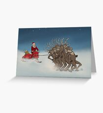 Nutty Christmas Greeting Card