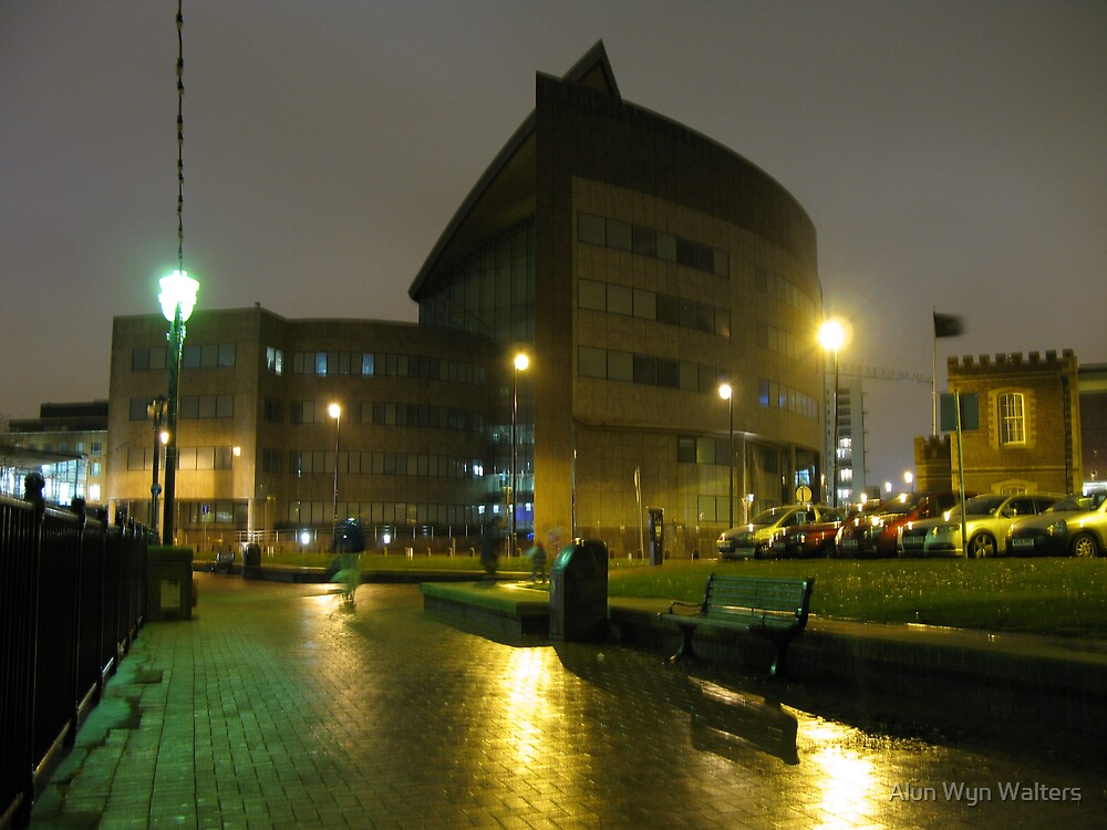 Cardiff Bay, Atradius Building by Alun Wyn Walters