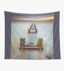 Seaview Outfall Isle Of Wight Wall Tapestry