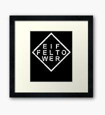 Stylish Eiffel Tower Framed Print