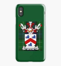 Abercrombie Shield on Tartan iPhone Case/Skin