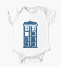 TARDIS Short Sleeve Baby One-Piece