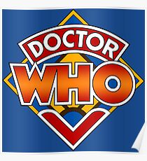 Doctor who Classic Logo 1 Poster