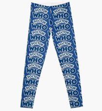 Classic Doctor Who Book Logo Leggings