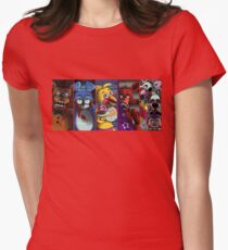 fnaf2 Women's Fitted T-Shirt