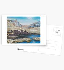 Peat Hags in Snowdonia Postcards