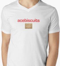 acebiscuits Men's V-Neck T-Shirt