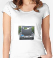 1931 Ford Tudor Sedan 'See Ya' Women's Fitted Scoop T-Shirt
