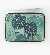 Monstera Melt (in Green) Laptop Sleeve