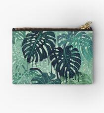 Monstera Melt (in Green) Studio Pouch