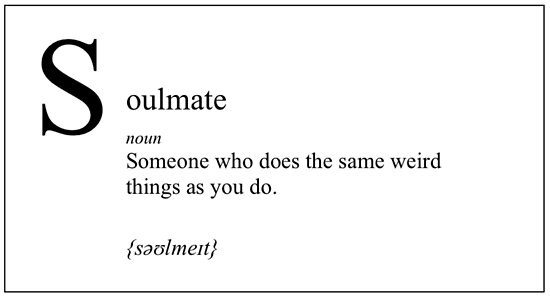'Soulmate definition' Poster by MademoiselleUrs