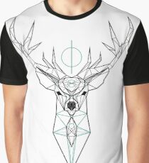 Emerald Stag  Graphic T-Shirt