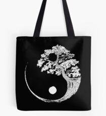 Bolsa de tela Yin Yang Bonsai Tree Budista japonés Zen