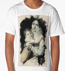 Young Faces from the past Series by Adam Asar, No 144 Long T-Shirt