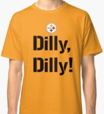 Bud Light Pit of Misery The Sequel Dilly Dilly Pittsburgh Steelers TV Commercial meaning philip rivers  Classic T-Shirt