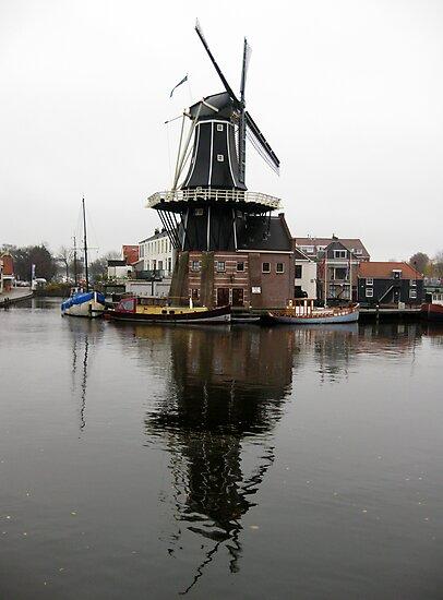 Windmill, Haarlem by John Douglas