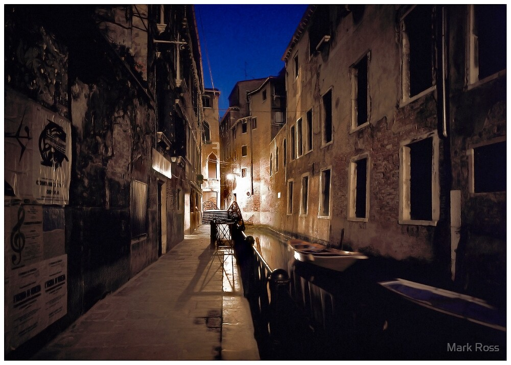 Venice By Moonlight #13 by Mark Ross