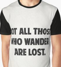 Traveller's quotes Graphic T-Shirt